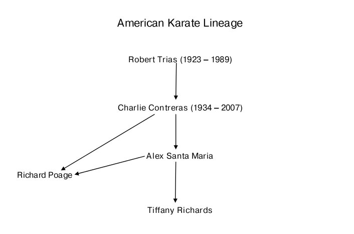 American Karate Lineage